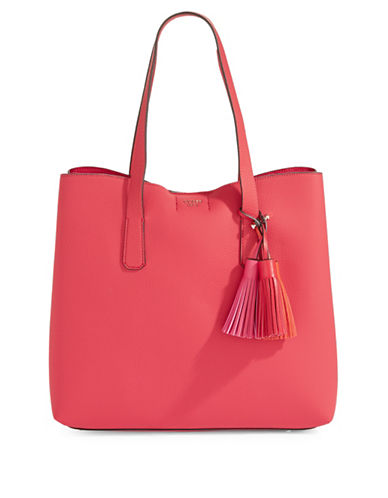 Guess Multicoloured Tassel Tote Bag-POPPY-One Size