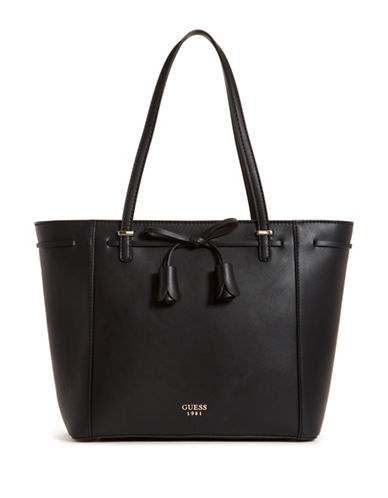 Guess Leila Carryall Tote-BLACK-One Size 89961961_BLACK_One Size