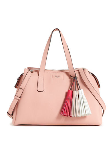 Guess Girlfriend Crossbody Satchel-ROSE-One Size