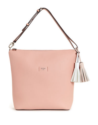 Guess Trudy Hobo Bag-ROSE-One Size