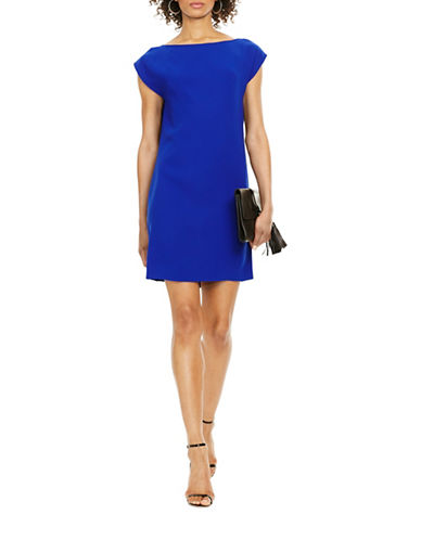 Polo Ralph Lauren Sable Shift Dress-BLUE-12