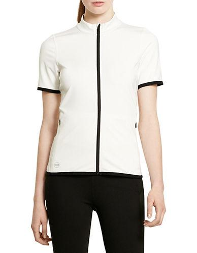Lauren Ralph Lauren Short-Sleeve Jersey Jacket-WHITE-Small 88426359_WHITE_Small