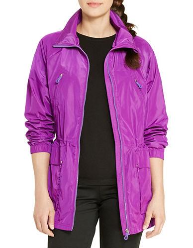 Lauren Ralph Lauren Taffeta Utility Jacket-PURPLE-Large 88426390_PURPLE_Large