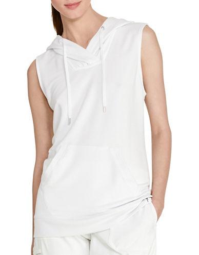 Lauren Ralph Lauren Sleeveless Hoodie-WHITE-Medium 88426444_WHITE_Medium