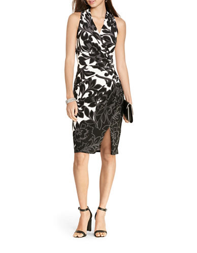 Lauren Ralph Lauren Floral Jersey Dress-GREY-14 88506430_GREY_14