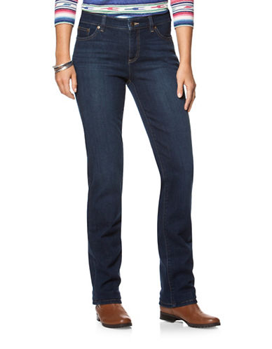 Chaps Bedford-Wash Stretch Straight Jean-BLUE-16