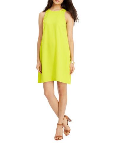 Lauren Ralph Lauren Crepe A-Line Dress-YELLOW-14