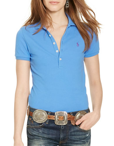 Polo Ralph Lauren Skinny-Fit Stretch Polo-BLUE-X-Large 88563826_BLUE_X-Large
