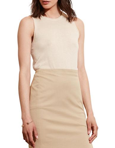 Lauren Ralph Lauren Silk-Blend Sleeveless Sweater-WHITE-Medium 88571180_WHITE_Medium