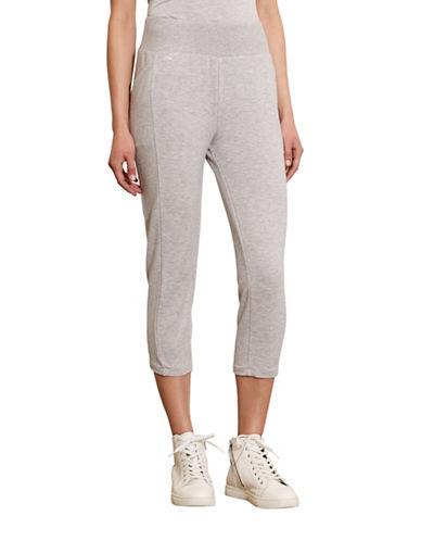 Lauren Ralph Lauren French Terry Capri Pants-GREY-Large 88573202_GREY_Large