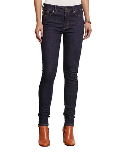 Lauren Ralph Lauren Premier Stretch Skinny Jeans-BLUE-10 88572587_BLUE_10
