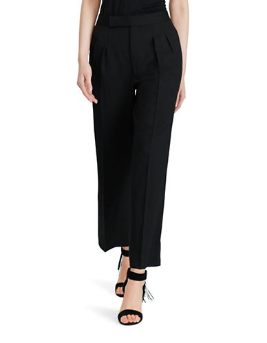 Polo Ralph Lauren Wool Wide-Leg Pants-BLACK-14 88721340_BLACK_14