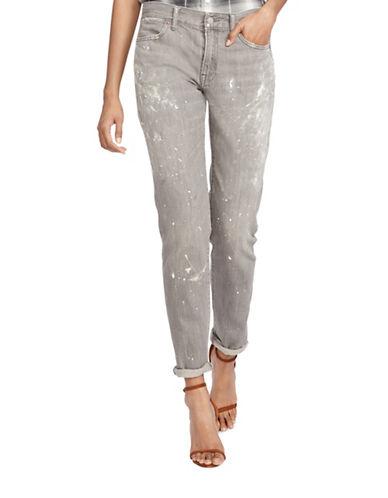 Polo Ralph Lauren Astor Slim Boyfriend Jeans-GREY-30