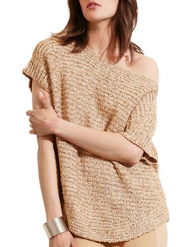 Lauren Ralph Lauren Short-Sleeve Boat Neck Sweater-NATURAL-Large 88571511_NATURAL_Large