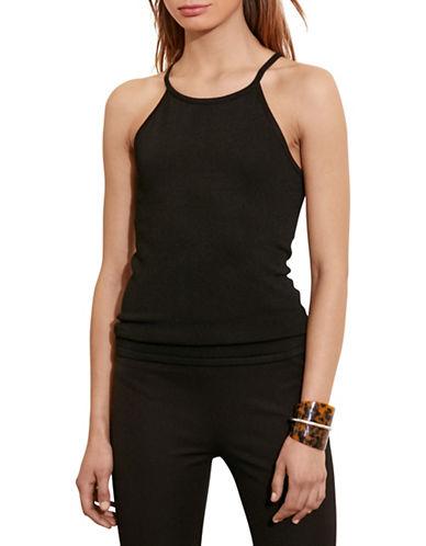 Lauren Ralph Lauren Knit Sleeveless Top-BLACK-Small 88661108_BLACK_Small