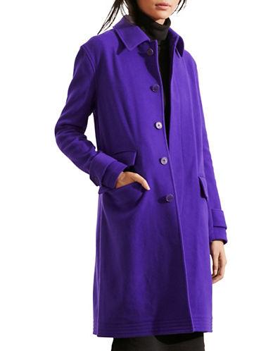 Lauren Ralph Lauren Merino Wool-Blend Jacket-PURPLE-Large 88661167_PURPLE_Large