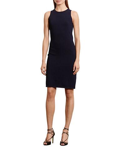 Lauren Ralph Lauren Ponte Sleeveless Dress-BLUE-Medium 88567880_BLUE_Medium
