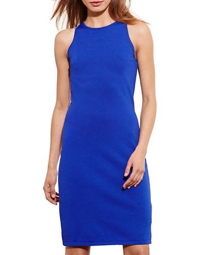 Lauren Ralph Lauren Ponte Sleeveless Dress-LAZULI-Medium 88567875_LAZULI_Medium