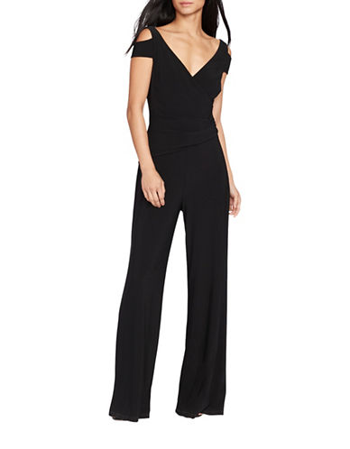 Lauren Ralph Lauren Stretch-Jersey Jumpsuit-BLACK-2