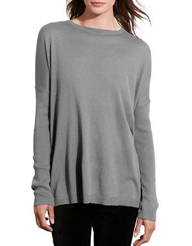 Lauren Ralph Lauren Relaxed Silk-Blend Sweater-GREY-Large 88742214_GREY_Large