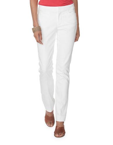 Chaps Stretch Skinny Pants-WHITE-6 88936454_WHITE_6