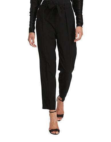 Polo Ralph Lauren High-Rise Straight Pants-BLACK-8