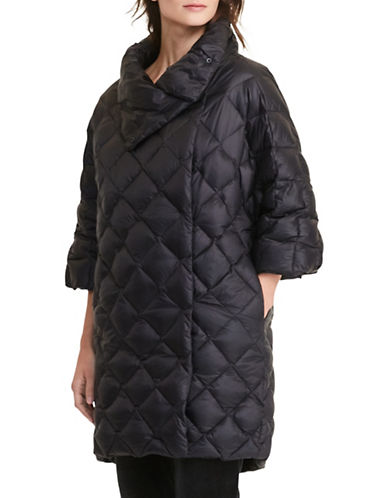 Lauren Ralph Lauren Petite Quilted Mock Neck Down Jacket-BLACK-Petite Small 88830633_BLACK_Petite Small