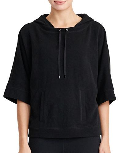 Lauren Ralph Lauren Cotton-Blend Hoodie-BLACK-X-Large 88830773_BLACK_X-Large