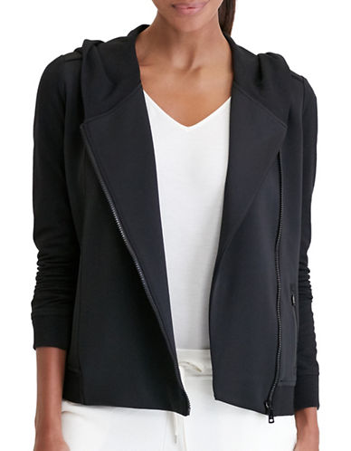 Lauren Ralph Lauren Shawl-Collar Hoodie-BLACK-Medium 88830852_BLACK_Medium