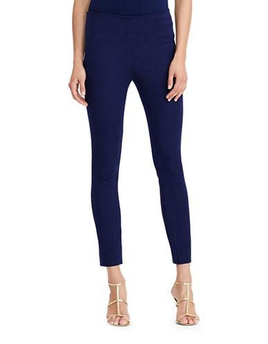 Lauren Ralph Lauren Petite Keslina Stretch-Twill Skinny Pants-BLUE-Petite 2