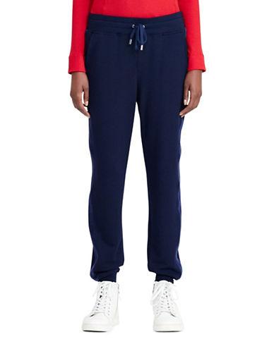 Lauren Ralph Lauren Patrizia Tuxedo Jogger Pants-BLUE-X-Large 88874483_BLUE_X-Large