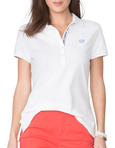 Chaps Stretch Cotton Polo-WHITE-Large 89090736_WHITE_Large
