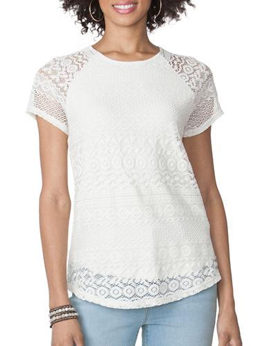 Chaps Lace-Overlay Top-WHITE-Medium 89052349_WHITE_Medium