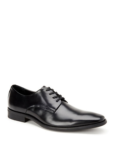 Calvin Klein Ramses Box Texture Oxfords-BLACK-10