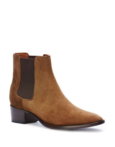 Frye Dara Suede Chelsea Boots-CHESNUT-7