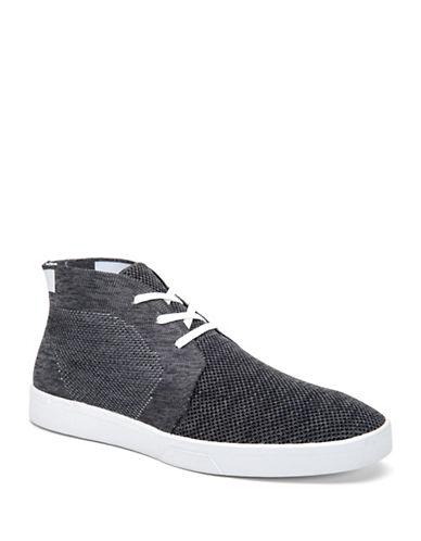 Calvin Klein Indio Heathered Knit High-Top Sneakers-BLACK/WHITE-7 88501331_BLACK/WHITE_7