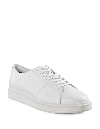 Frye Mercer Suede Sneakers-WHITE-8