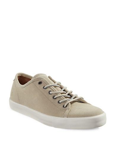 Frye Brett Suede Sneakers-BEIGE-12