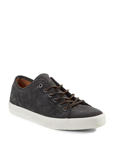 Frye Brett Suede Sneakers-GREY-11