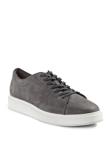 Frye Mercer Suede Sneakers-SILVER-9