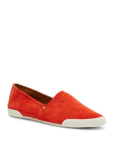 Frye Melanie Leather Slip-Ons-CORAL-6.5