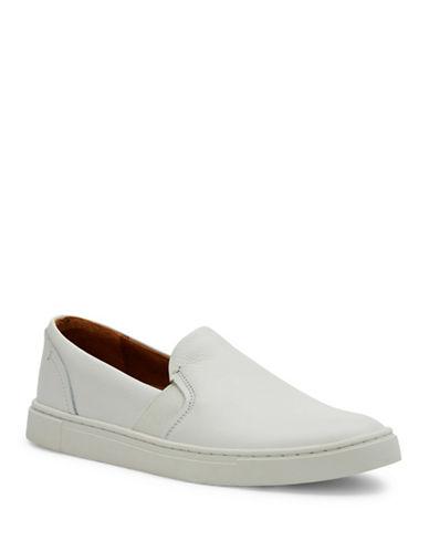 Frye Ivy Leather Slip-Ons-WHITE-7.5