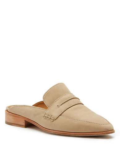 Frye Ellie Leather Shoes-TAUPE-8.5