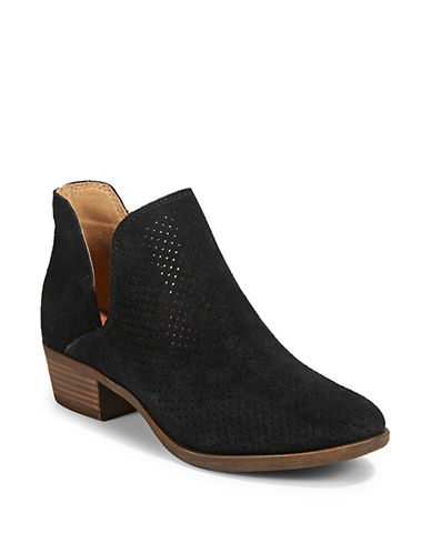 Lucky Brand Birtie Leather Booties 90042729