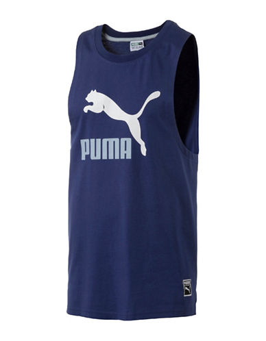Puma Archive Logo Fashion Tank Top-BLUE-Large 89253114_BLUE_Large