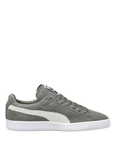 Puma Suede Classic Plus Sneakers-GREEN-8.5