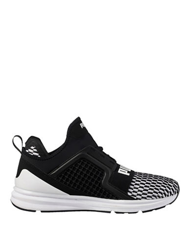 Puma Ignite Limitless Colourblock Running Shoes-BLACK-11.5
