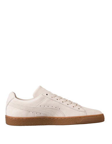 Puma Suede Classic Low-Top Sneakers-BROWN-13