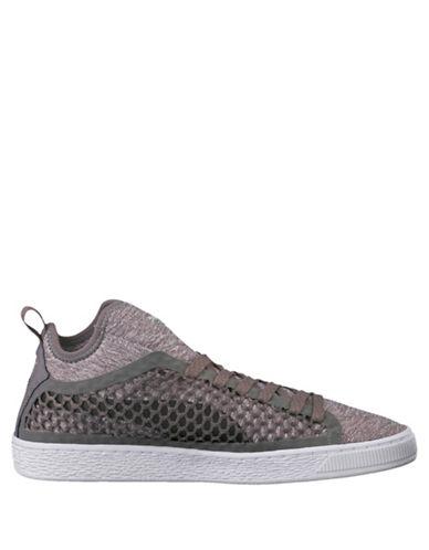 Puma Basket Classic NetFit Sneakers-GREY-11.5