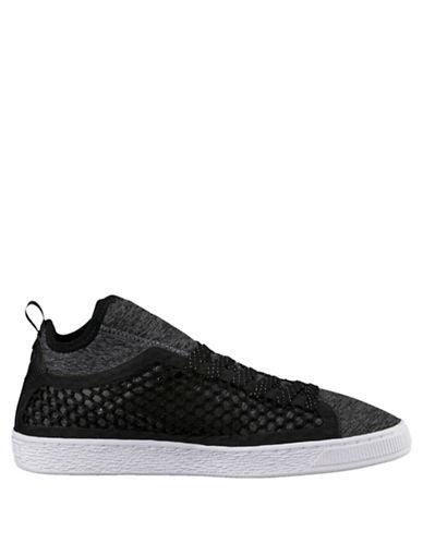 Puma Basket Classic NetFit Sneakers-BLACK-13